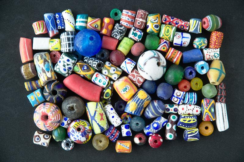 Krobo Beads - Cuentas Africanas de Vidrio Reciclado
